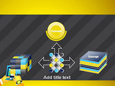Hands with Touchpad Drawing PowerPoint Template#19