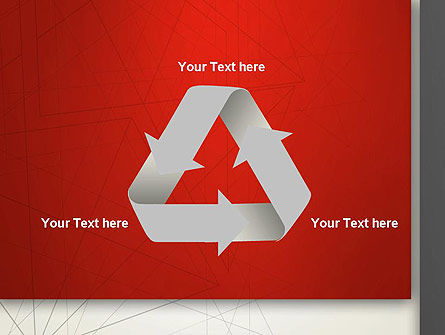 Polygonal Abstract Delineation PowerPoint Template Slide 10