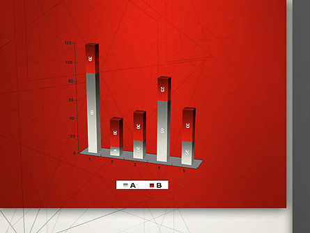 Polygonal Abstract Delineation PowerPoint Template Slide 17