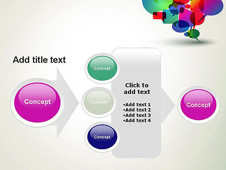 Live Chat PowerPoint Template Slide 17