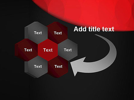 Black and Red PowerPoint Template Slide 11