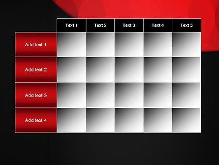 Black and Red PowerPoint Template Slide 15