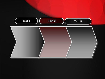 Black and Red PowerPoint Template Slide 16