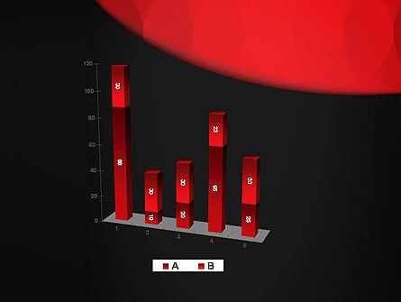 Black and Red PowerPoint Template Slide 17