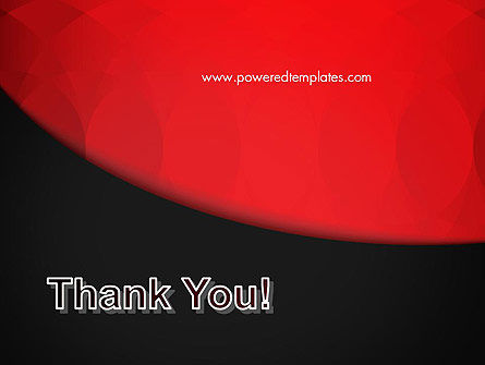 Black and Red PowerPoint Template Slide 20