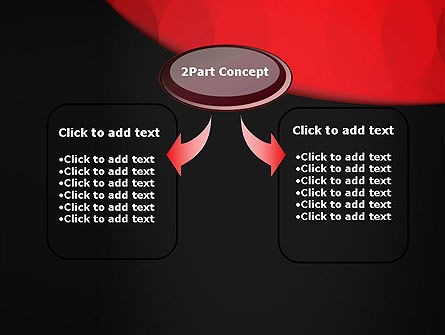 Black and Red PowerPoint Template Slide 4