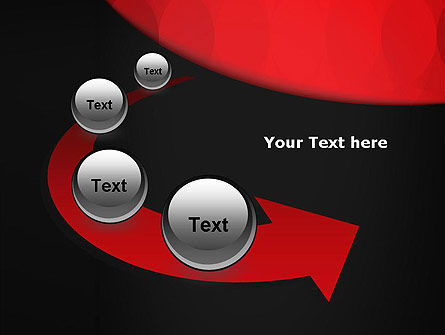 Black and Red PowerPoint Template Slide 6