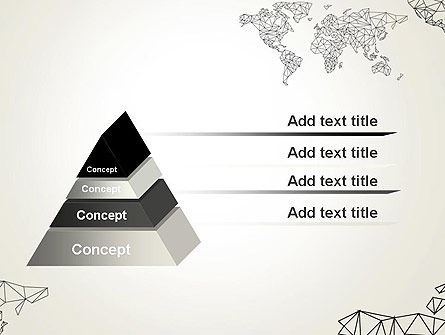 Word Map in Polygonal Design PowerPoint Template Slide 12