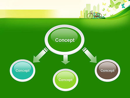 Caring for Our Environment PowerPoint Template, Slide 4, 12899, Nature & Environment — PoweredTemplate.com