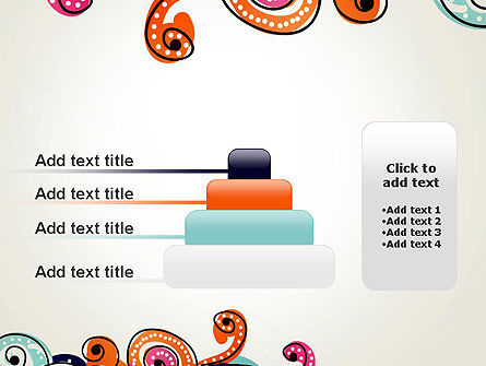 European Classical Pattern PowerPoint Template Slide 8