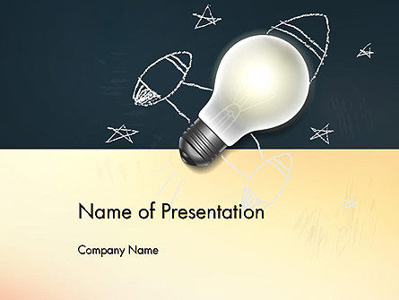 Education & Training: Powerful Idea PowerPoint Template #12903