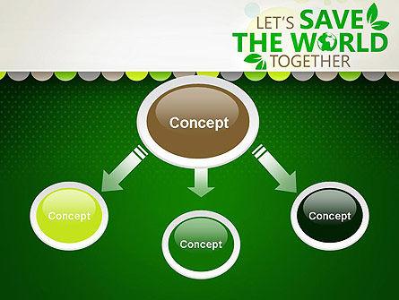 Save Nature Theme PowerPoint Template, Slide 4, 12906, Nature & Environment — PoweredTemplate.com
