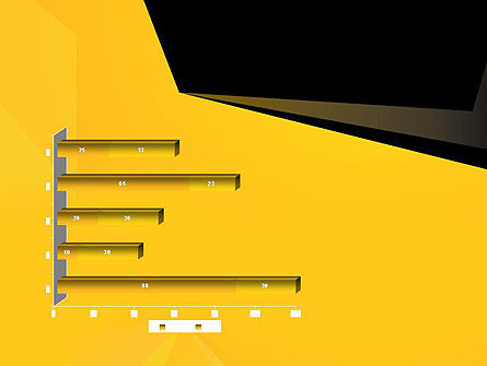 Geometric Black and Yellow PowerPoint Template Slide 11