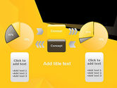 Geometric Black and Yellow PowerPoint Template#16