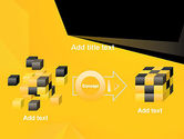 Geometric Black and Yellow PowerPoint Template#17