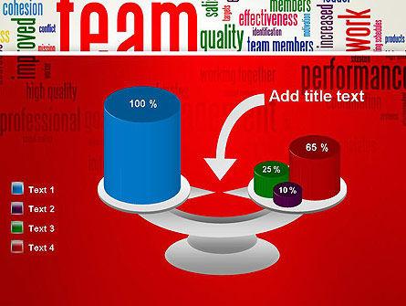 Team Word Cloud PowerPoint Template Slide 10