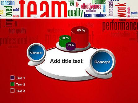 Team Word Cloud PowerPoint Template Slide 16