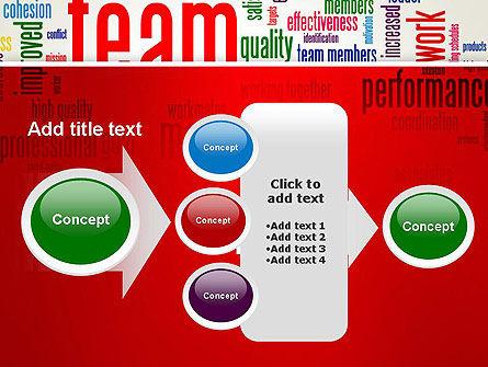 Team Word Cloud PowerPoint Template Slide 17