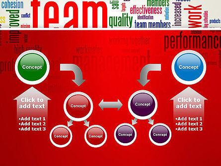 Team Word Cloud PowerPoint Template Slide 19