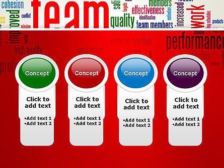 Team Word Cloud PowerPoint Template Slide 5