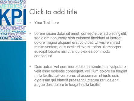 KPI Word Cloud PowerPoint Template, Slide 3, 12913, Careers/Industry — PoweredTemplate.com