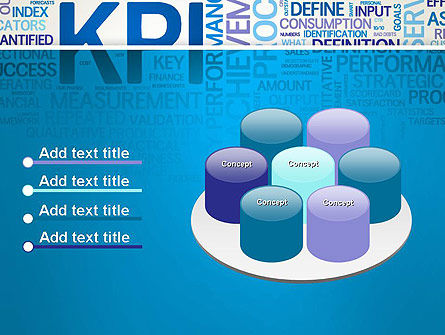 KPI Word Cloud PowerPoint Template Slide 12