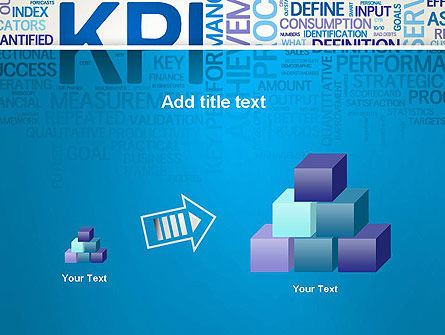 KPI Word Cloud PowerPoint Template Slide 13