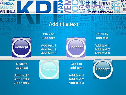 KPI Word Cloud PowerPoint Template Slide 18