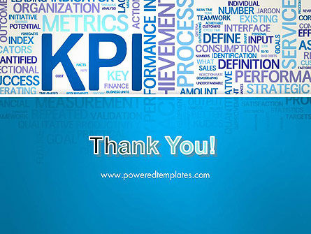 KPI Word Cloud PowerPoint Template Slide 20