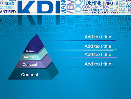 KPI Word Cloud PowerPoint Template Slide 4