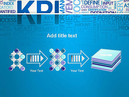 KPI Word Cloud PowerPoint Template Slide 9