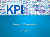 Careers/Industry: KPI Word Cloud PowerPoint Template #12913