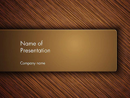 Wooden Background PowerPoint Template