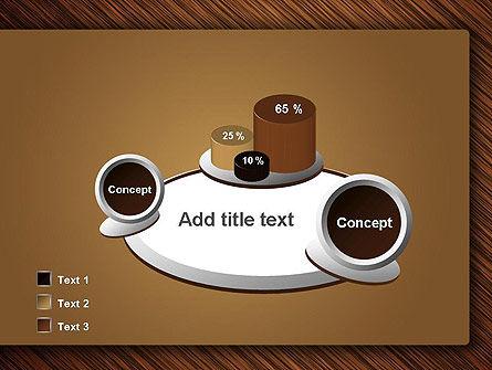 Wooden Background PowerPoint Template Slide 16