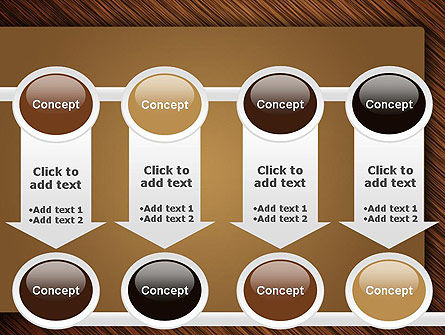 Wooden Background PowerPoint Template Slide 18