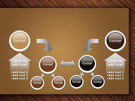 Wooden Background PowerPoint Template Slide 19