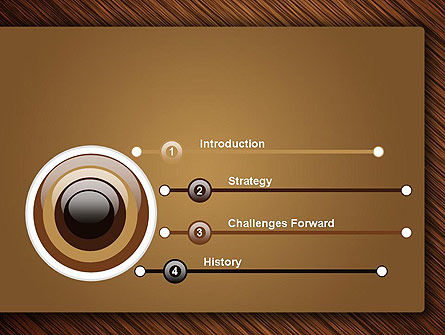 Wooden Background PowerPoint Template Slide 3