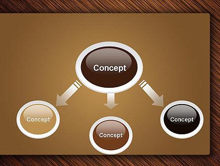 Wooden Background PowerPoint Template, Slide 4, 12914, Abstract/Textures — PoweredTemplate.com
