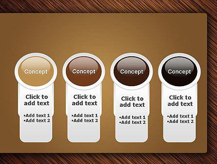 Wooden Background PowerPoint Template Slide 5