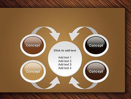 Wooden Background PowerPoint Template Slide 6