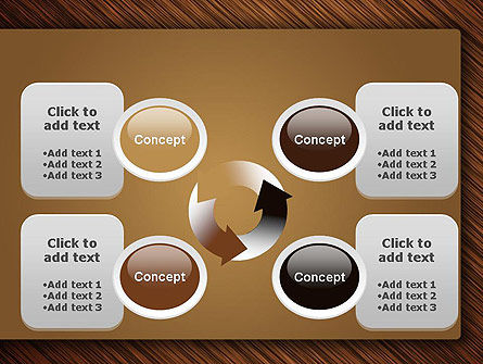 Wooden Background PowerPoint Template Slide 9