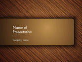 Abstract/Textures: Wooden Background PowerPoint Template #12914