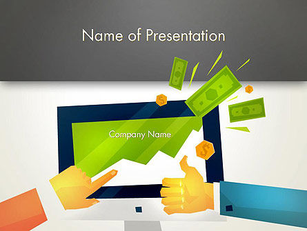 Building Profits PowerPoint Template