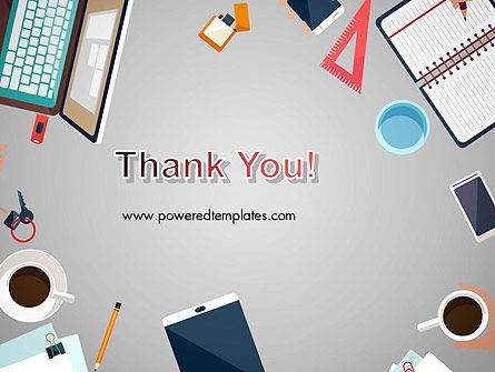 Workplace Concept PowerPoint Template Slide 20