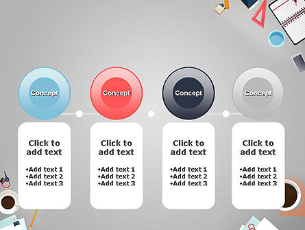 Workplace Concept PowerPoint Template Slide 5