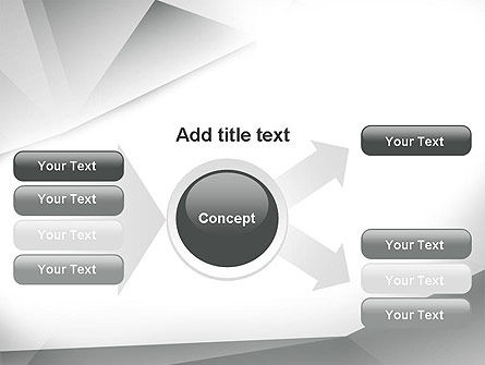 Gray Abstract Triangles PowerPoint Template Slide 14