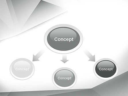 Gray Abstract Triangles PowerPoint Template Slide 4