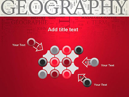 Geography Word Cloud PowerPoint Template Slide 10