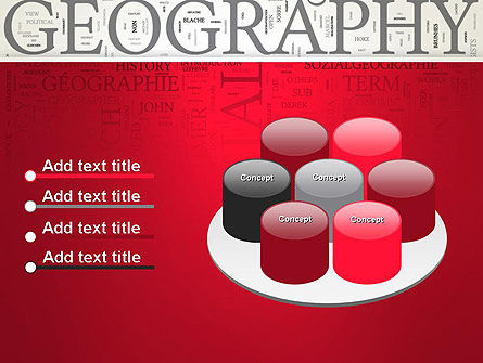 Geography Word Cloud PowerPoint Template Slide 12