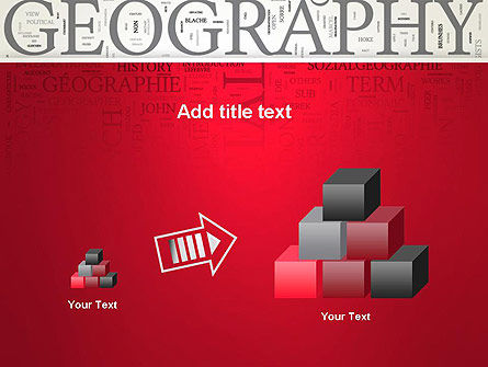 Geography Word Cloud PowerPoint Template Slide 13